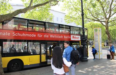 ベルリンで便利な周遊バス