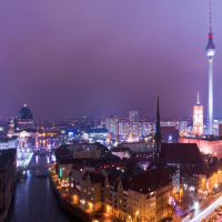 ベルリンの夜景