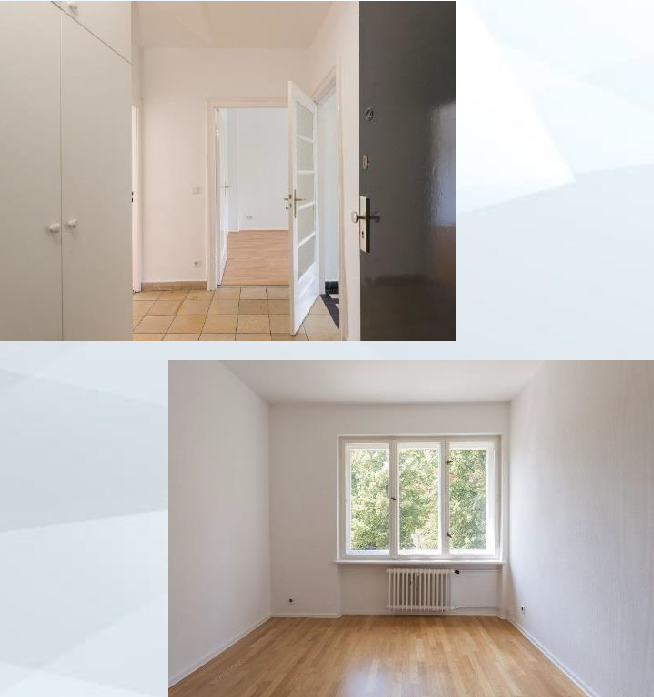 ツェーレンドルフの部屋の写真
