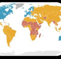 海外不動産選び 先進国map